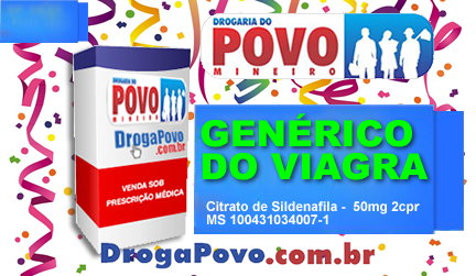 Generico do Viagra 50mg 2 cpr