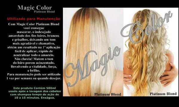 Magic Color Desamarelador de Loiros - 500ml