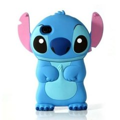Capa para Iphone 4 - Stitch Azul Disney