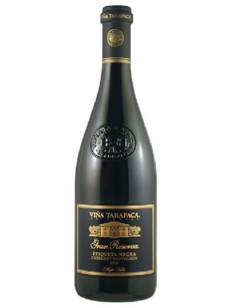 Vinho Chi Tarapaca Cosecha Gran Res Cabernet Sauvignon Etiqueta Negra 750ml
