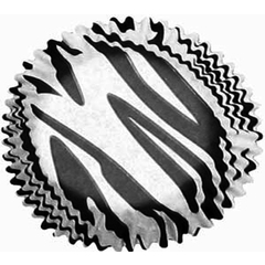 Forminhas Cupcake Zebra N0- Mago