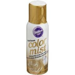 Spray Color Mist Ouro - Wilton