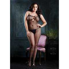 Bodystocking arrastão Plus Size Leg Avenue 89041Q