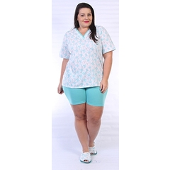 Short doll manga curta Plus Size 1766