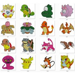 Bordados Pokemon