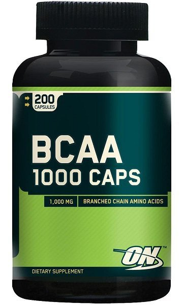 """Optimum"" BCAA 1000 Caps - 200 cápsulas"