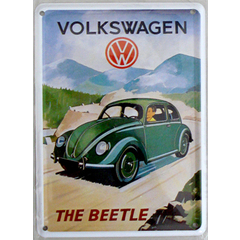 "Card Metálico - Volkswagen ""The Beetle"""